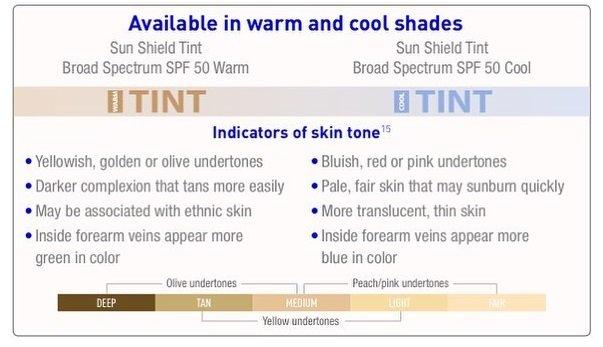 Obagi Sun Shield Warm and Cool Tint Sunscreen